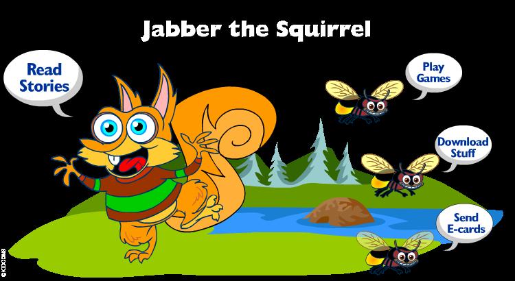 Jabber the Squirrel