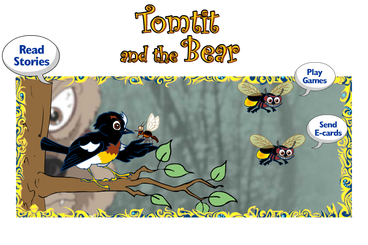 Tom Tit and the Bear